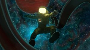 3840x2160 Wallpaper astronaut, space, outer space, art