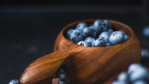 3840x2160 Wallpaper blueberry, berry, fruit, dishes