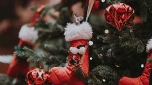 3840x2160 Wallpaper christmas toys, christmas, new year, decoration, holiday