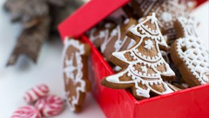 3840x2160 Wallpaper gingerbread, cookies, new year, christmas, baking