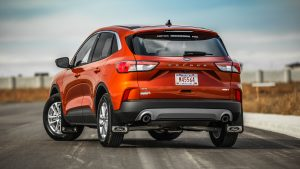 3840x2160 Wallpaper ford, crossover, side view, car