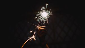 3840x2160 Wallpaper bengali fire, sparks, holiday, hand