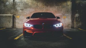 3840x2160 Wallpaper bmw 320i, bmw, car, front view, red