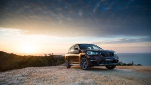 3840x2160 Wallpaper bmw, x1, f49, side view, crossover