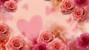 3840x2160 Wallpaper card, background, hearts