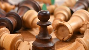 3840x2160 Wallpaper chess, pieces, game