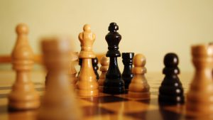 3840x2160 Wallpaper chess, pieces, king, queen, game, games