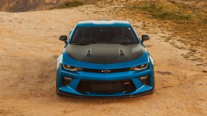 3840x2160 Wallpaper chevrolet, car, tuning, front view