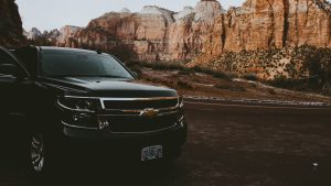 3840x2160 Wallpaper chevrolet, suv, front view, travel
