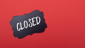 3840x2160 Wallpaper closed, word, inscription, red