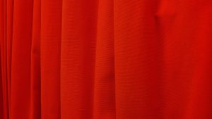 3840x2160 Wallpaper cloth, folds, red, bright, texture