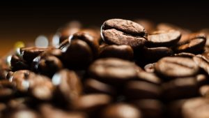 3840x2160 Wallpaper coffee, beans, roasted, brown