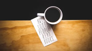 3840x2160 Wallpaper coffee, cup, inscription, text, words