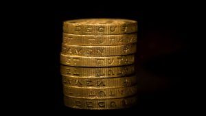 3840x2160 Wallpaper coins, gold, old