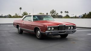 3840x2160 Wallpaper ford, ltd, convertible, 1972, red, side view