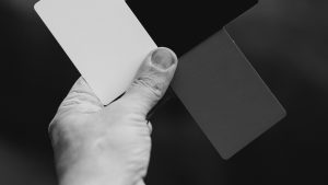 3840x2160 Wallpaper hand, cards, bw