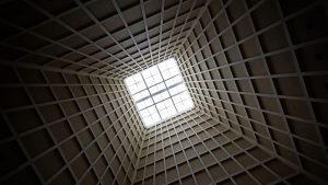 3840x2160 Wallpaper mine, ceiling, bottom view, architecture, construction