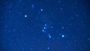 3840x2160 Wallpaper orion, constellation, starry sky