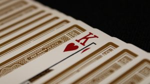 3840x2160 Wallpaper playing cards, cards, king