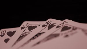 3840x2160 Wallpaper queen, playing cards, cards, deck