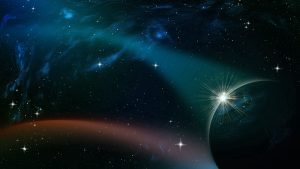 3840x2160 Wallpaper space, sky, planets, stars, moons