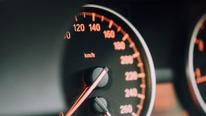 3840x2160 Wallpaper speedometer, arrows, numbers, divisions