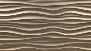 3840x2160 Wallpaper surface, waves, curves, texture, brown