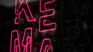 3840x2160 Wallpaper words, letters, neon, sign